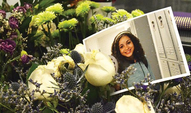 A photo of Nadia from the memorial in the School of Image Arts. (Madeline Smith / Ryersonian Staff)