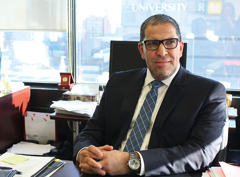 Mohamed Lachemi was approved by the board of governors as the interim Ryerson president as the search for a new one continues. (Charlotte Arnold/Ryersonian staff)