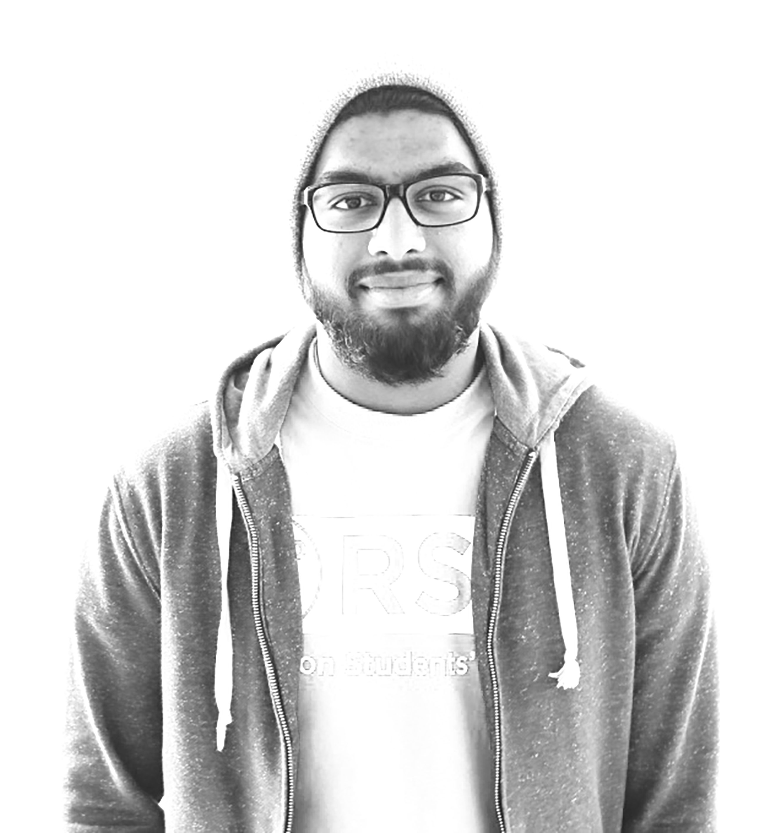 """Abdullah Idroos, Business management , fourth year """"Following my religion and sticking to the tenets of the faith has allowed me to have a holistic perspective of what's going on (in the world) and how I should conduct myself. ... I was born into a Muslim household and I would always practise. At the beginning, it was because that was what my parents did so it's what I did. But later on, after coming into university, I started exploring stuff for myself. ... It has to be intellectual. You don't just follow religion because you were born into it. You do your research, you make a choice."""""""