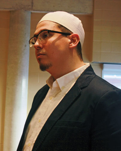 U of T Muslim chaplain Imam Amjad Tarsin. (Al Donato/Ryersonian Staff)