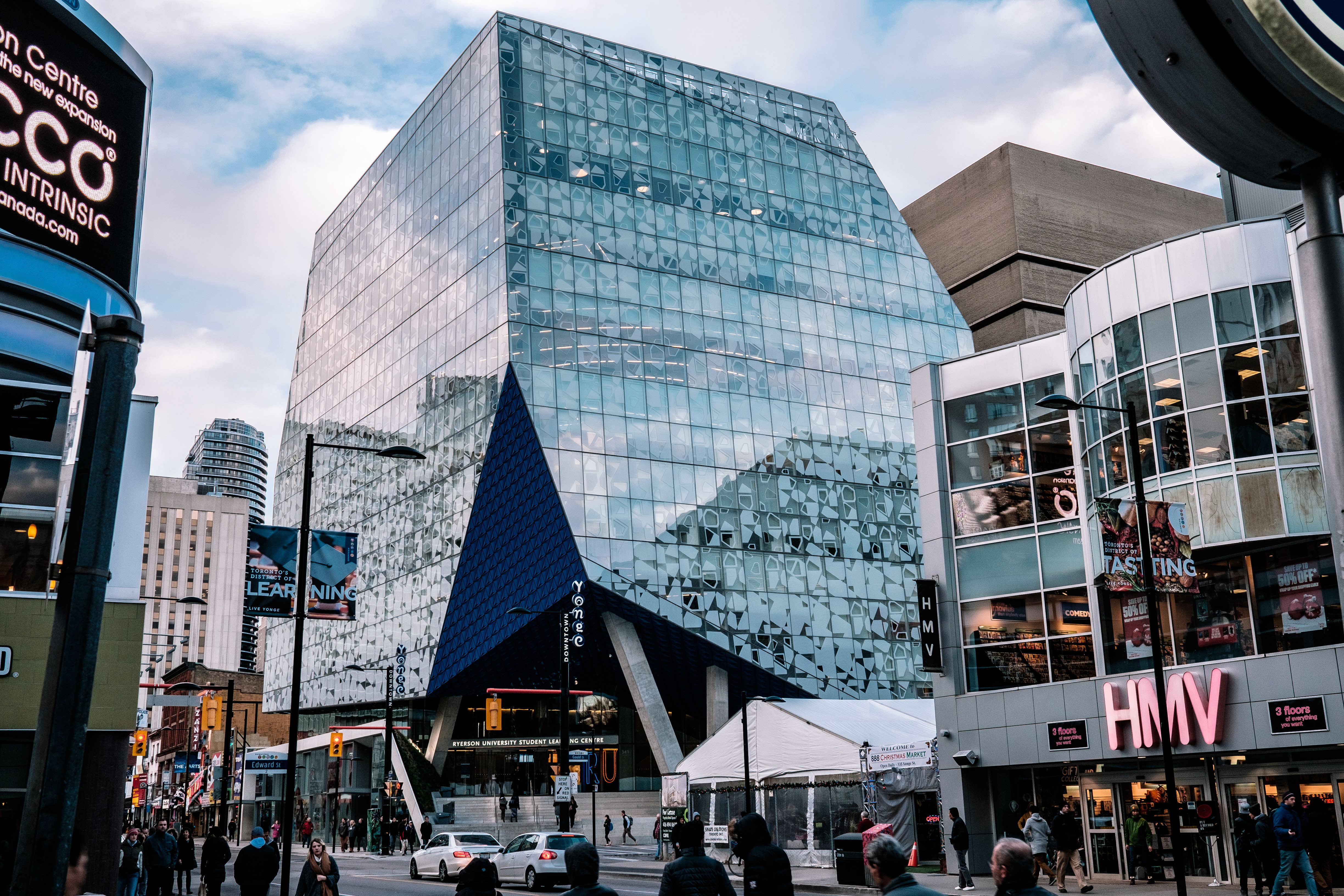 The Student Learning Centre at Ryerson University.  (Ryersonian File Photo)