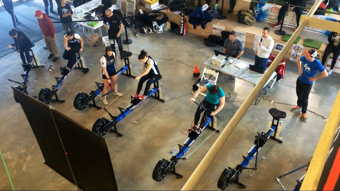 Ryerson's dragon boat club hosted the Ontario University Indoor Championships this Saturday in the Student Learning Centre.