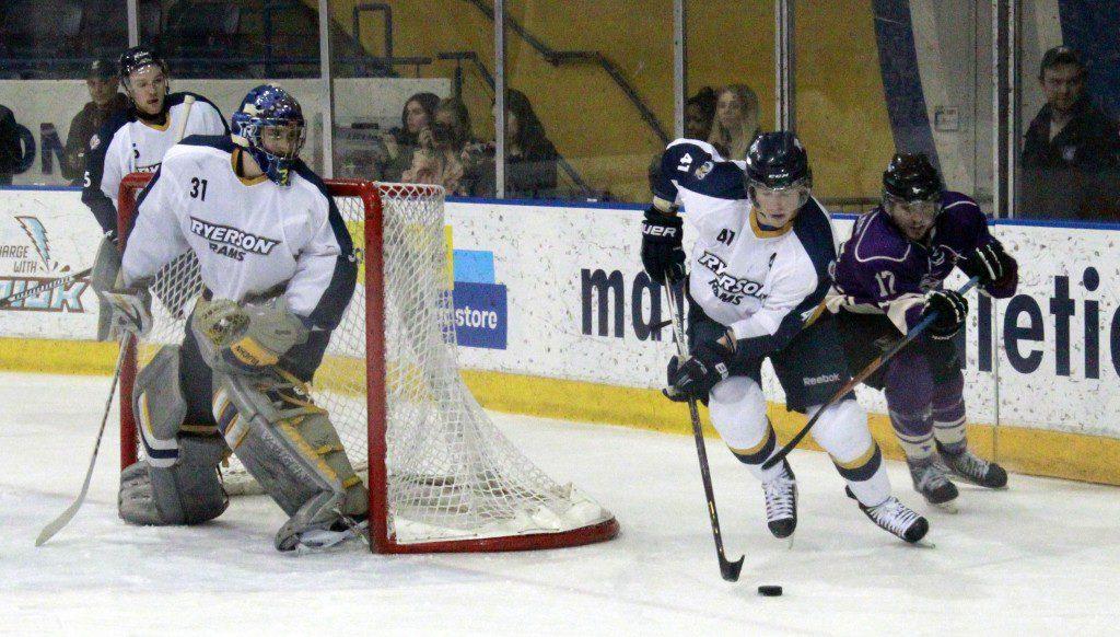 Men's hockey team loses final game of season to Western in ...