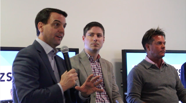 Hudak urges students to advance the 'sharing economy'