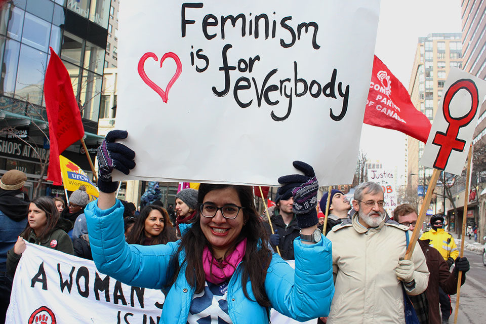 A lot of people believe that feminism is only for women, but it's also for men. (Ryersonian Archive)
