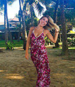 Twenty-on-year-old Lindsay Sganga on vacation in Maui in 2015. (Lindsay Sganga/Ryersonian Staff)