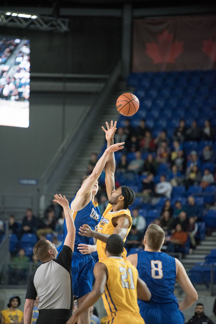 The Ryerson Rams will advance to the gold medal game with a win against Calgary Saturday night. (Courtesy Jeremy Johnson-Silvers)