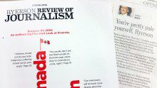 The RRJ's diversity issue and Heather Mallick's column. (Julianne San Antonio/Ryersonian Staff)