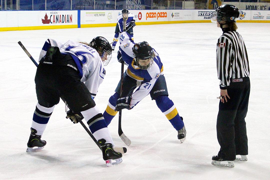 Ryerson Women's Hockey vs UOIT38GOOD
