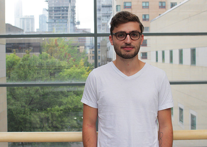 Kieran Delamont, Ryerson Student