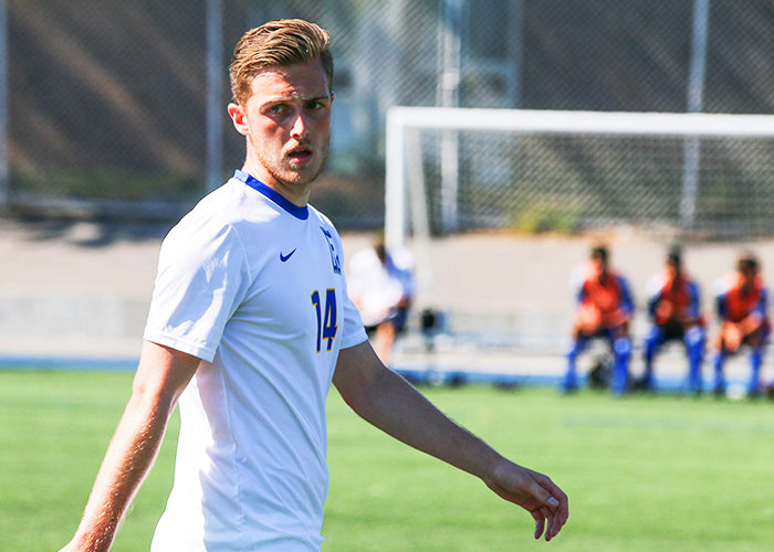 Lambis leads Rams to impressive start in men's soccer