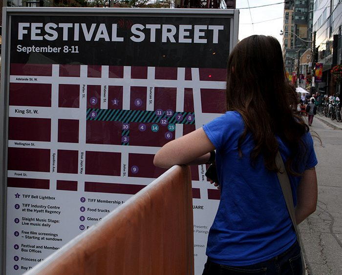 Festival Street for The Toronto International Film Festival 2016