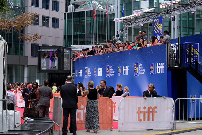 Red Carpet outside of Roy Thompson Hall during the Toronto International Film Festival 2016