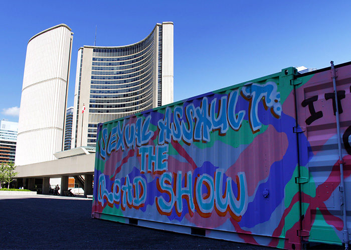 Sexual Assault: The Roadshow at Nathan Phillips Square
