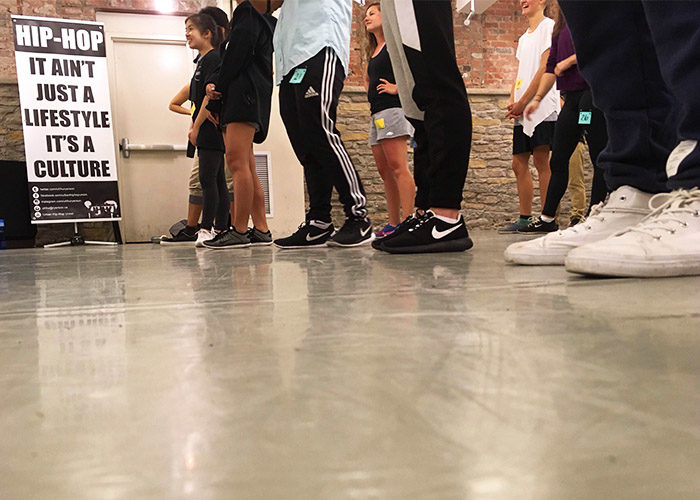 Ryerson Urban Hip hop Union Workshop