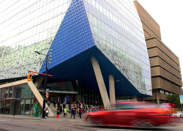 The SLC building at Ryerson