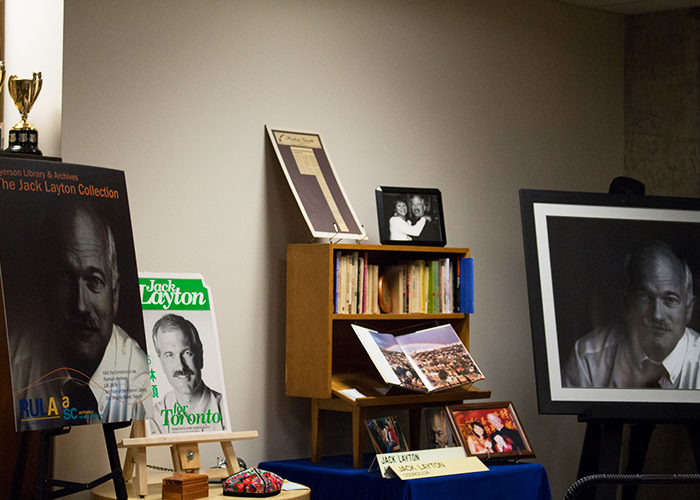The Jack Layton Leadership School at Ryerson has been running during reading weeks since 2013. (Ryersonian Archive)