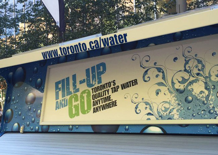 HTO To Go Water Trailer