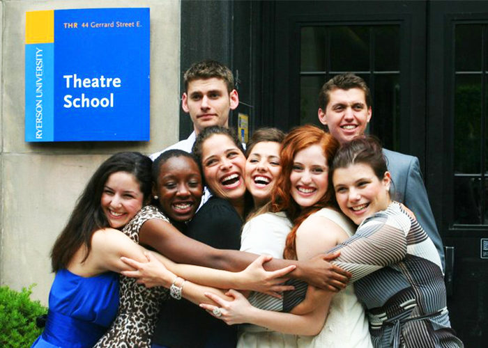 Members of Ryerson Theatre School's class of 2011. (Courtesy Jessica Way)