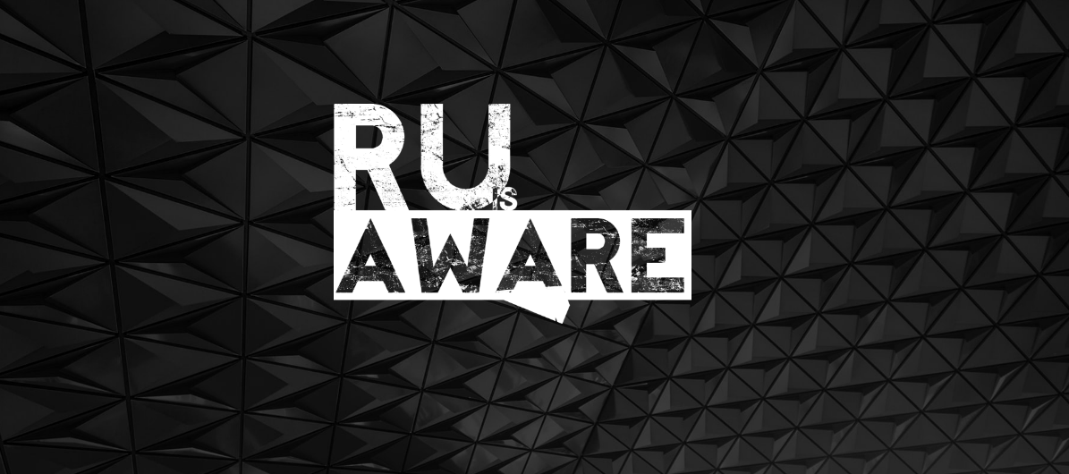 RU Aware logo from their website.