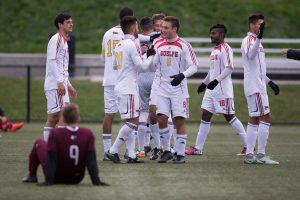 The Guelph Gryphons Men's Soccer Team (Courtesy of Guelph Gryphons)