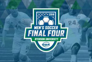 Men's Soccer Final Four Courtesy of OUA