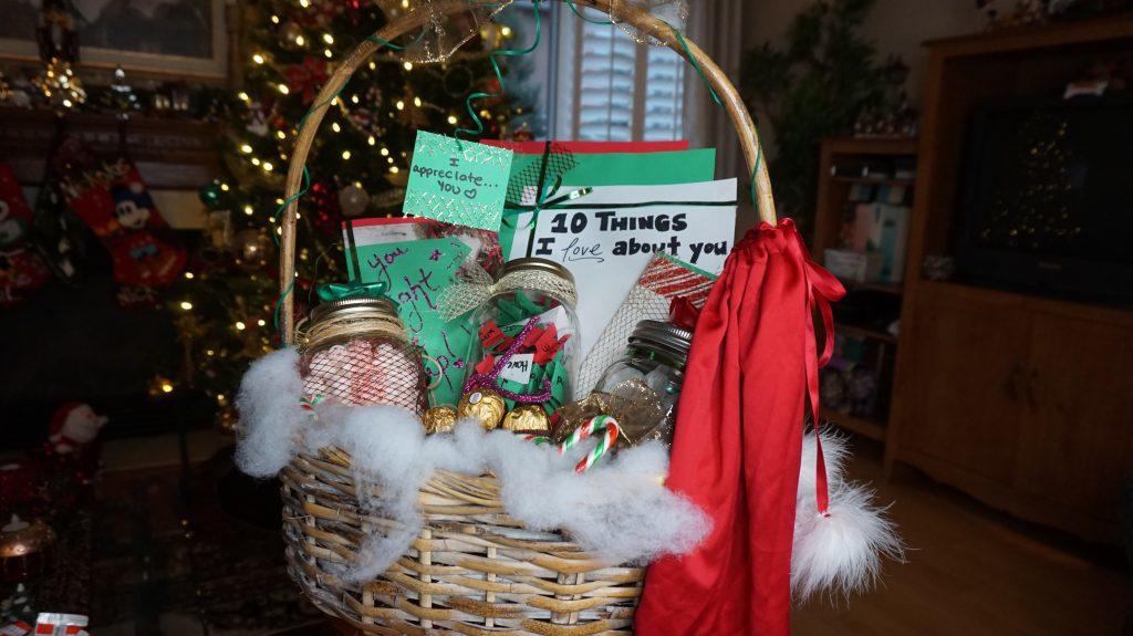 Gift basket. (Courtesy Selena Singh)