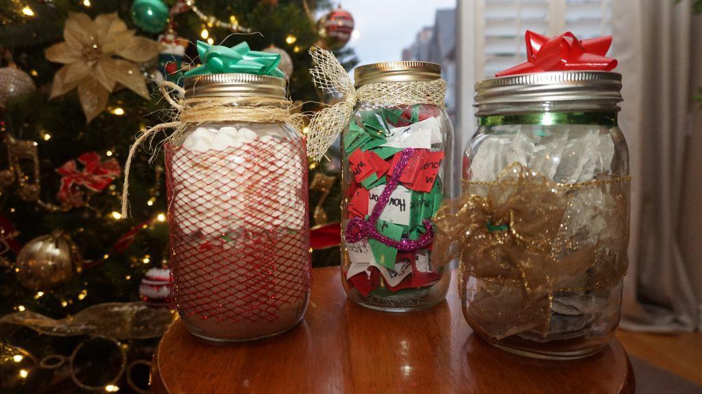 Mason jar gifts. (Courtesy Selena Singh)