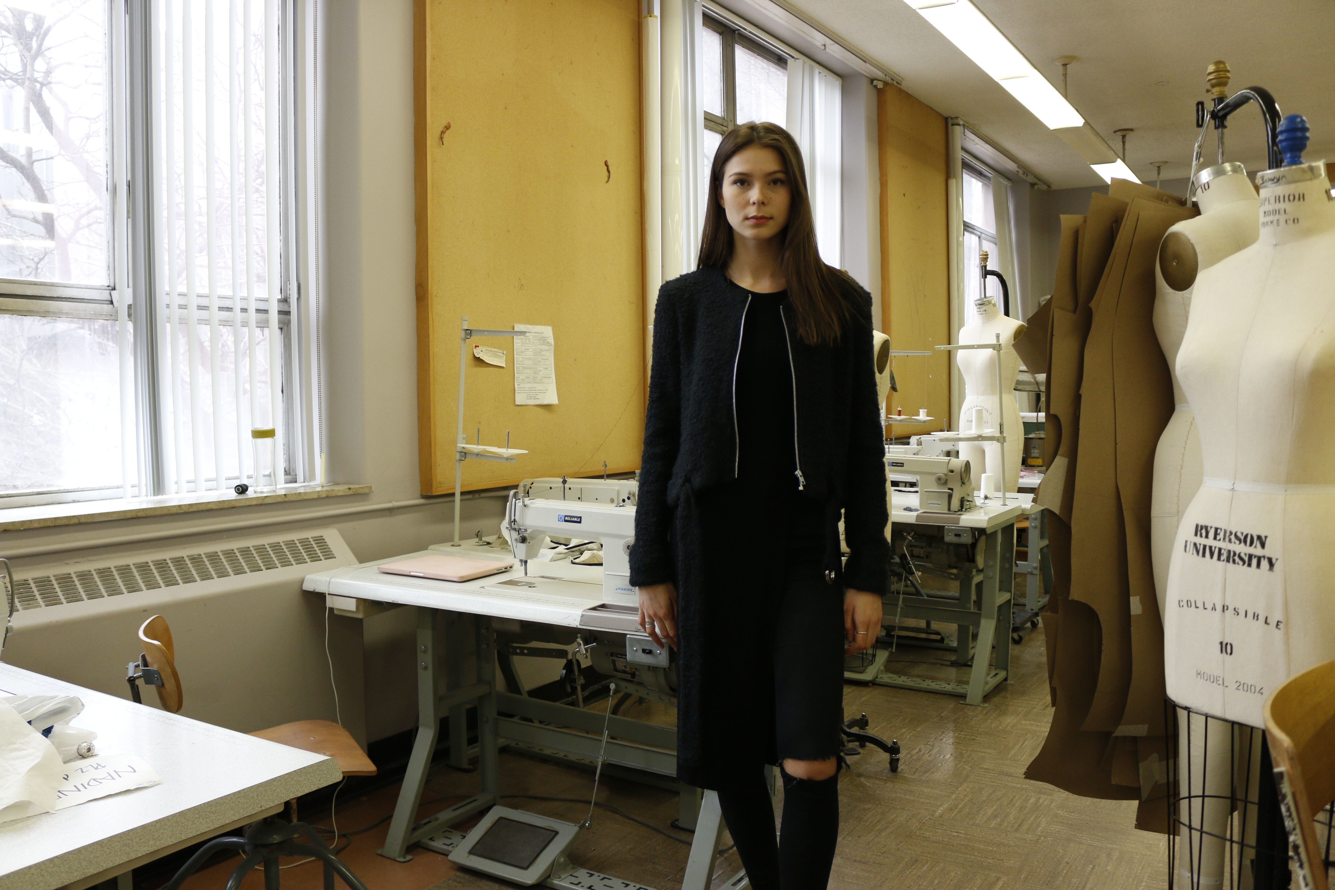 UPDATED Fashion Student Millie Yates Creates Designs Aimed At The Taller Woman