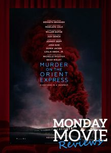 "MOVIE MONDAY: ""Murder on the Orient Express"""