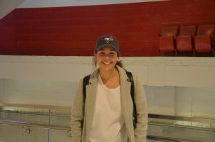 Third-year sports media student Jaime Hills