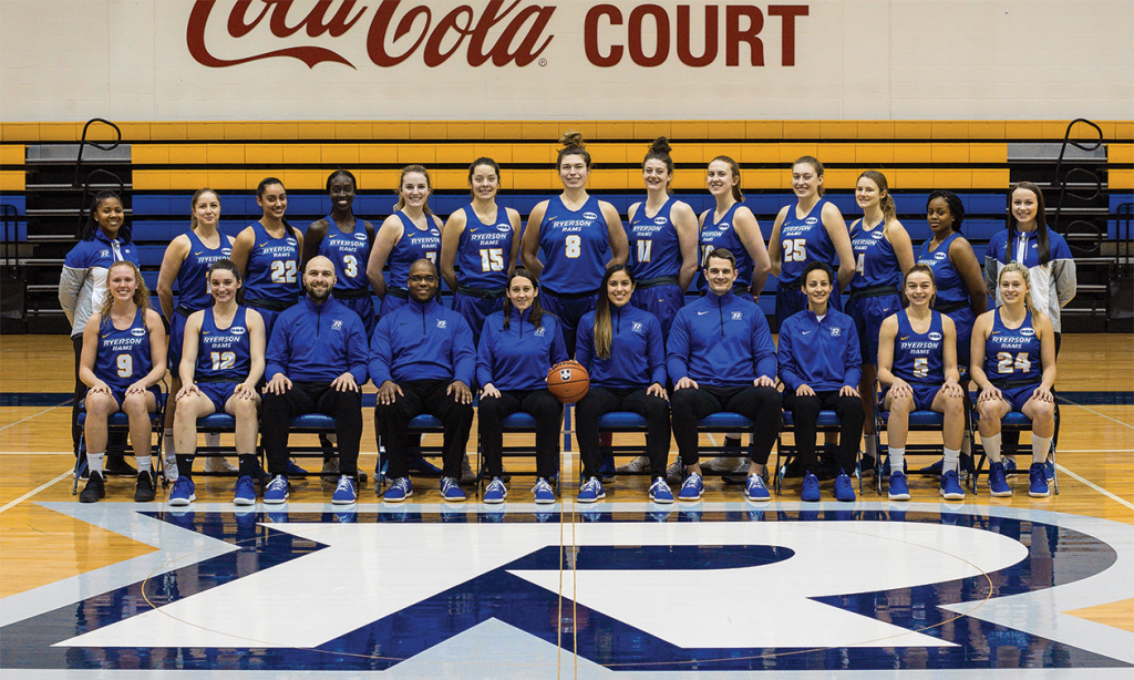 Ryerson Rams women's basketball team